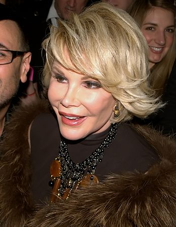 Joan Rivers at the 25th Anniversary party of M...