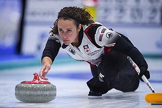Joanne Courtney Canadian curler