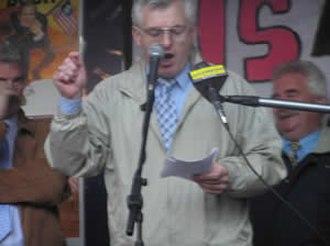 Joe Higgins - Joe Higgins speaking in Dublin 25 June 2004