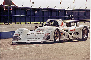 Porsche WSC-95 - The original WSC-95 at Donington Park