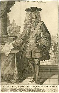 Johann Georg, Duke of Saxe-Weissenfels German noble