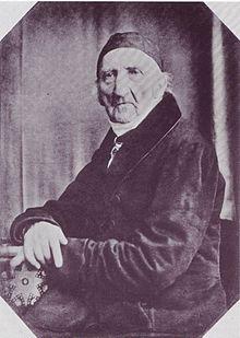 Johann Gottfried Schadow, 1849 (Quelle: Wikimedia)