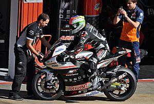 Johann Zarco - Zarco at the 2015 Catalan Grand Prix