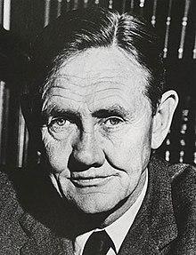 Retrato em preto e branco de John Gorton em janeiro de 1968