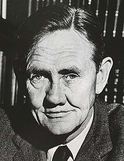 """Australian to the bootheels"": Prime Minister John Gorton established government support for Australian cinema. JohnGorton1968.jpg"