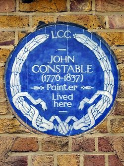 John constable 1776 1837 painter lived here