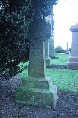 John Hill Burton - John Hill Burton's grave, Dalmeny churchyard