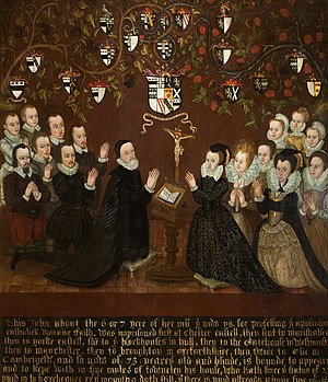Towneley family - Image: John and Mary Towneley 1601