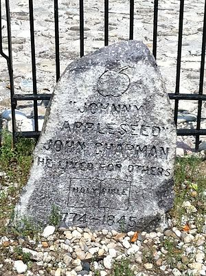 Johnny Appleseed - Johnny Appleseed's grave