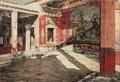 Josef Theodor Hansen - Casa de Sallustio, Pompei - 1886.png