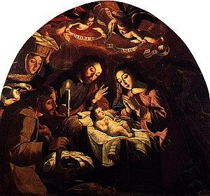 Josefa de Óbidos - Nativity of Jesus by Josefa de Óbidos, 1669, National Museum of Ancient Art, Lisbon