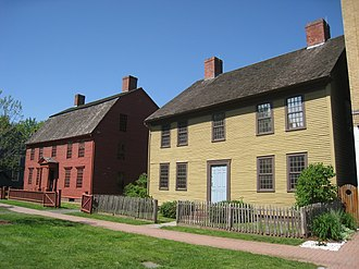 Webb-Deane-Stevens Museum - Image: Joseph Webb and Isaac Stevens Houses Wethersfield, CT 1