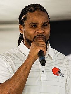 Josh Cribbs American football return specialist and wide receiver
