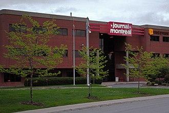 Le Journal de Montréal - The headquarters of Le Journal de Montréal.