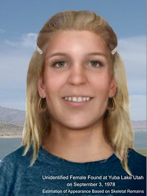 Murder of Marilee Bruszer - Reconstruction of the Juab County Jane Doe