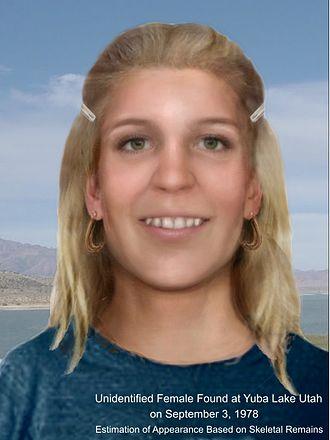 Murder of Marilee Bruszer - Reconstruction of the Juab County Jane Doe