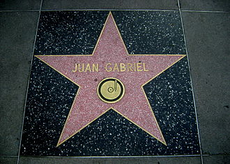 Juan Gabriel - Juan Gabriel's star on the Hollywood Walk of Fame