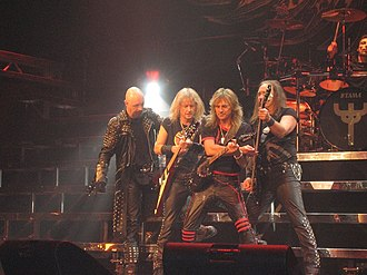 Heavy metal music - Judas Priest, performing in 2005.