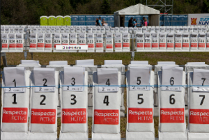 Jukola relay - Jukola 2012: 1250 maps waiting Venla orienteers from the first leg