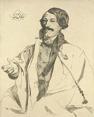 Jules Laurens - Jules Laurens by Félix Bracquemond