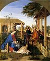 Julius Schnorr von Carolsfeld - The Family of St John the Baptist Visiting the Family of Christ - WGA21012.jpg