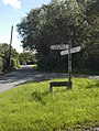 Junction of Clay Gap lane and Sower Carr lane - geograph.org.uk - 907769.jpg