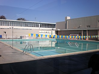 Junípero Serra High School (San Mateo, California) - Swimming pool