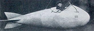 Spy basket - Juray fish-shaped spy gondola while manned