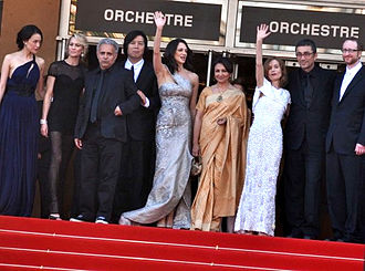 2009 Cannes Film Festival - The members of the main competition jury.