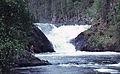 Jyrava waterfall in Kuusamo 1975.JPG