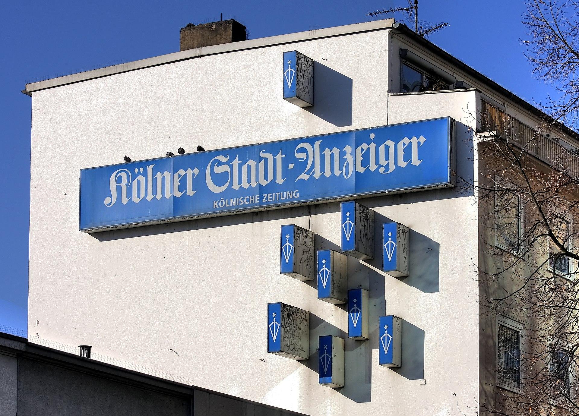 Kölner stadtanzeiger er sucht sie