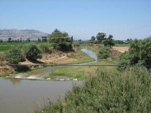 Küçükmenderes River - Cayster near Ödemiş