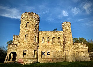 City workhouse castle Historic limestone workhouse castle for a former jail in [[Kansas City, Missouri]]