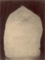 KITLV 87614 - Isidore van Kinsbergen - Inscribed stone at Kawali near Tjiamis - Before 1900.tif