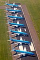 KLM aircraft parked on Schiphol runway during corona crisis (cropped).jpg