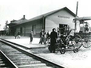 Kosciusko, Mississippi - Image: KOSCIUSKO,MISSISSIPP I 1920