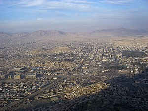 View of Kabul from TV-Hill, Afghanistan