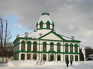 Former Hokkaidō Government Office - The restored Hokkaidō Development Commission (Kaitakushi) Sapporo Main Office, which is located in the Historical Village of Hokkaidō.