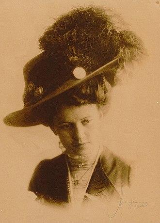 Monthey - Kaja Eide Norena, 1909