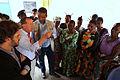 Kalemie, province du Katanga, RD Congo - Le Représentant spécial du Secrétaire General des Nations Unies, Martin Kobler, s'entretient avec les femmes congolaises incarcérées au centre pénitentiaire de Kalemie (20092911219).jpg