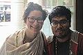 Kalliope Tsouroupidou & Nahid Sultan at Wikimania 2018 (01).jpg