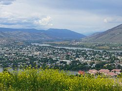 City view of Kamloops