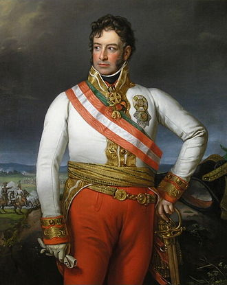 Karl Philipp, Prince of Schwarzenberg - Portrait of Karl Philipp