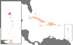 グアドループの位置