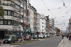 Karlsruhe, die Karlstraße.JPG
