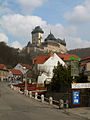 Karlstejn Castle - Rising from the Town - panoramio.jpg