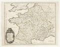 Karta över Frankrike, utgiven 1658 - Skoklosters slott - 97956.tif