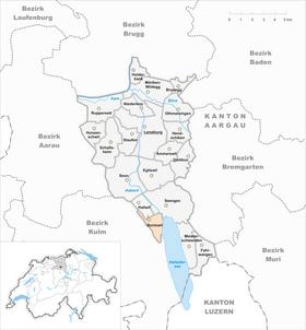 Map of Boniswil