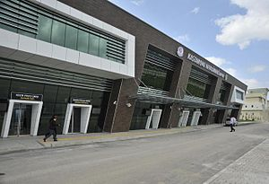 Kastamonu Airport - Image: Kastamonu Uzunyazı Airport Terminal Building