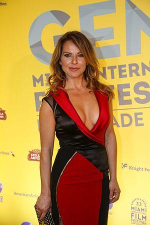 La Reina del Sur (telenovela) - Image: Kate del Castillo at 2015 Miami Film Festival
